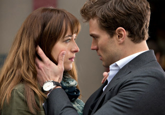 обоя fifty shades of grey, кино фильмы, dakota, johnson, jamie, dornan