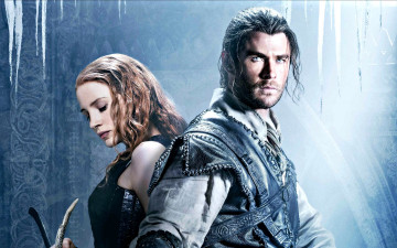 обоя the huntsman,  winter`s war, кино фильмы, the huntsman winter`s war, jessica, chastain