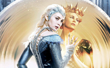 обоя the huntsman winter`s war, кино фильмы, charlize, theron, emily, blunt
