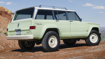 обоя jeep wagoneer roadtrip concept 2018, автомобили, jeep, 2018, concept, roadtrip, wagoneer