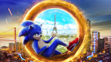 обоя sonic the hedgehog, кино фильмы, sonic, the, hedgehog