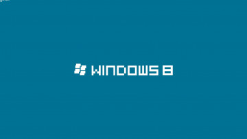 обоя компьютеры, windows 8, фон, логотип