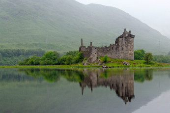 обоя kilchurn castle,  scotland, города, замки англии, scotland, kilchurn, castle
