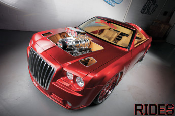 Картинка автомобили chrysler tuning roof whithout bordo 300c