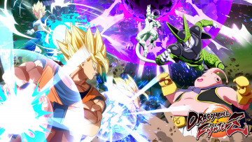 обоя dragon ball fighterz, видео игры, dragon, ball, fighterz, action, файтинг