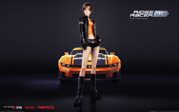 Картинка ridge racer 3d artwork видео игры