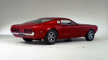 Картинка ford+mustang+mach+i+concept+1966 автомобили mustang ford mach i concept 1966 chery