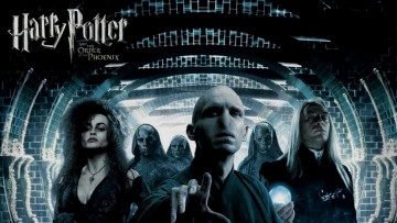 обоя кино фильмы, harry potter and the order of the phoenix, беллатрисса, лестрейндж, люциус, малфой, темный, лорд