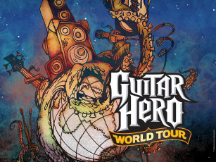 обоя guitar, hero, world, tour, видео, игры