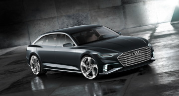 Картинка автомобили audi avant prologue темный 2015г