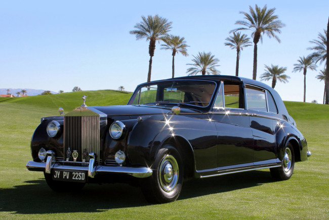 Обои картинки фото rolls-royce phantom v sedanca deville by james young 1961, автомобили, rolls-royce, 1961, v, phantom, young, james, sedanca, deville
