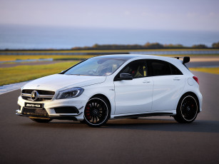 Картинка автомобили mercedes-benz amg a 45 w176 edition 1 au-spec 2013г светлый