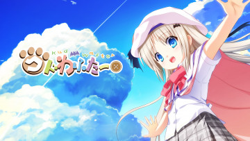 обоя аниме, little busters, little, busters