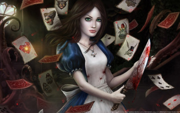 Картинка alice madness returns видео игры
