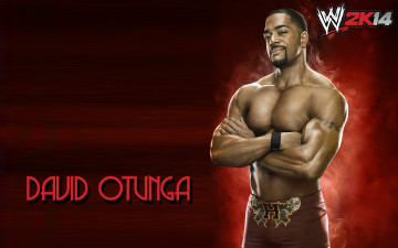 обоя спорт, wwe, david, otunga