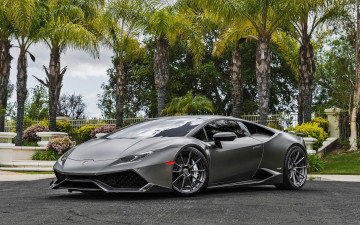 обоя 2018 lamborghini huracan lp610-4, автомобили, lamborghini, диски, ламборджини, hdr, серый, литье, forgiato, wheels, тюнинг