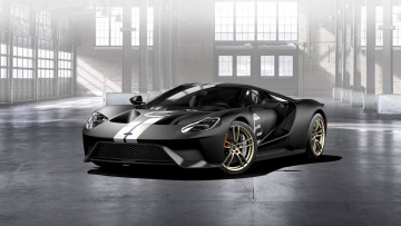 обоя ford gt-66 heritage edition 2017, автомобили, ford, 2017, edition, heritage, gt-66