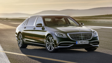 обоя mercedes-maybach s-class s650 black 2018, автомобили, mercedes-benz, 2018, black, s650, s-class, mercedes-maybach