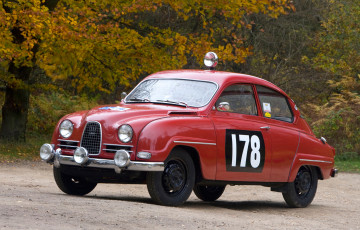 обоя saab 96 rally car 1960, автомобили, saab, 1960, car, 96, rally