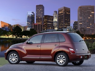 обоя chrysler street pt cruiser sunset boulevard 2008, автомобили, chrysler, street, 2008, boulevard, sunset, cruiser, pt