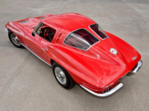 обоя corvette sting ray z06 1963, автомобили, corvette, 1963, z06, sting, ray, red