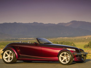 обоя plymouth prowler concept 1993, автомобили, plymouth, prowler, 1993, concept