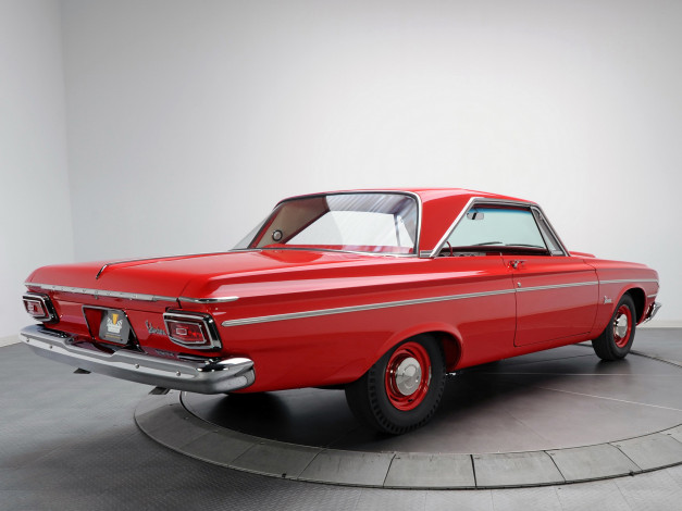 Обои картинки фото plymouth belvedere max wedge hardtop coupe 1964, автомобили, plymouth, belvedere, 1964, coupe, hardtop, wedge, max