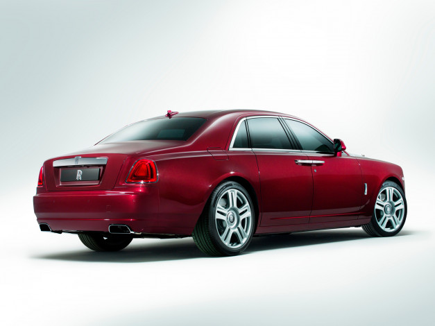 Обои картинки фото rolls-royce ghost 2014, автомобили, rolls-royce, ghost, 2014