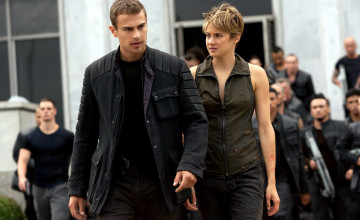 обоя кино фильмы, insurgent, shailene, woodley, theo, james