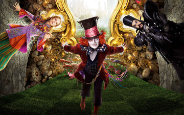 Картинка кино+фильмы alice+through+the+looking+glass alice through the looking glass