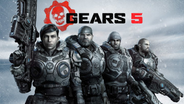 обоя gears 5, видео игры, gears of war 5, poster, e3, 2019, gears, 5, games