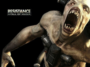 обоя resistance, fall, of, man, видео, игры