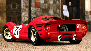 Картинка 1967 ferrari 330 p4 видео игры gran turismo prologue