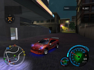 обоя nfs, un2, видео, игры, need, for, speed, underground