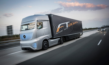 Картинка mercedes-benz+future+truck+2025 автомобили mercedes+trucks truck future 2025 mercedes-benz
