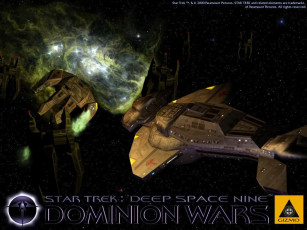 Картинка видео игры star trek deep space nine dominion wars