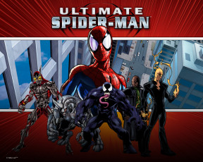 обоя ultimate, spider, man, видео, игры