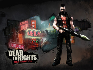 обоя dead, to, rights, retribution, видео, игры