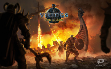 обоя vikings, war of clans, видео игры,  war of clans, онлайн, action, ролевая, war, of, clans