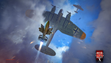 обоя видео игры, war thunder,  world of planes, action, онлайн, world, of, planes, war, thunder