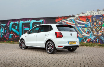 Картинка автомобили volkswagen светлый 2014г typ 6r uk-spec 5-door gti polo