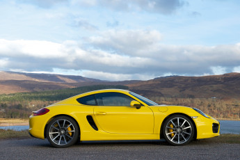 Картинка автомобили porsche 2013г 981c uk-spec cayman s