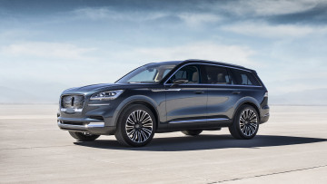 Картинка lincoln+aviator+concept+2018 автомобили lincoln concept aviator 2018