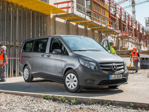Картинка автомобили mercedes-benz vito tourer base w639 2014г