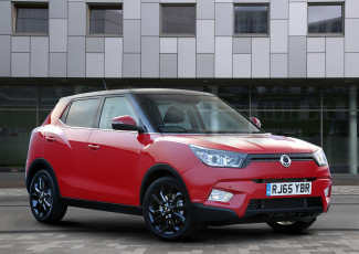 Картинка автомобили ssang+yong 2015г красный uk-spec tivoli ssangyong