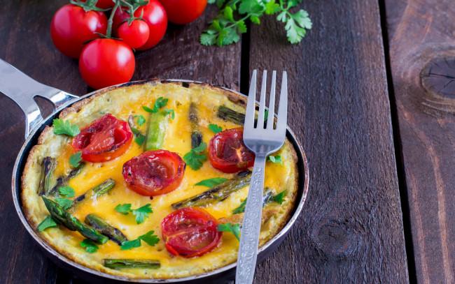 Омлет яичный с овощами — pic 7