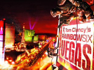 обоя видео, игры, rainbow, six, vegas
