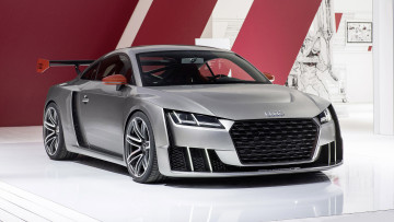 Картинка audi+tt+clubsport+turbo+concept+2015 автомобили audi tt clubsport turbo concept 2015