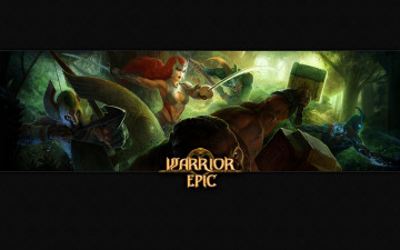 обоя warrior, epic, видео, игры