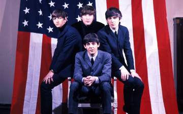 Картинка the beatles музыка george harrison ringo starr paul mccartney john lennon